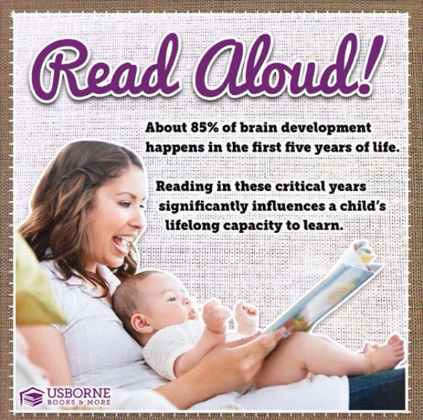 Benefits of reading aloud in the first 5 years of life